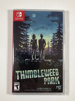 Thimbleweed Park - Nintendo Switch (Limited Run Games #001) Shipped in a box