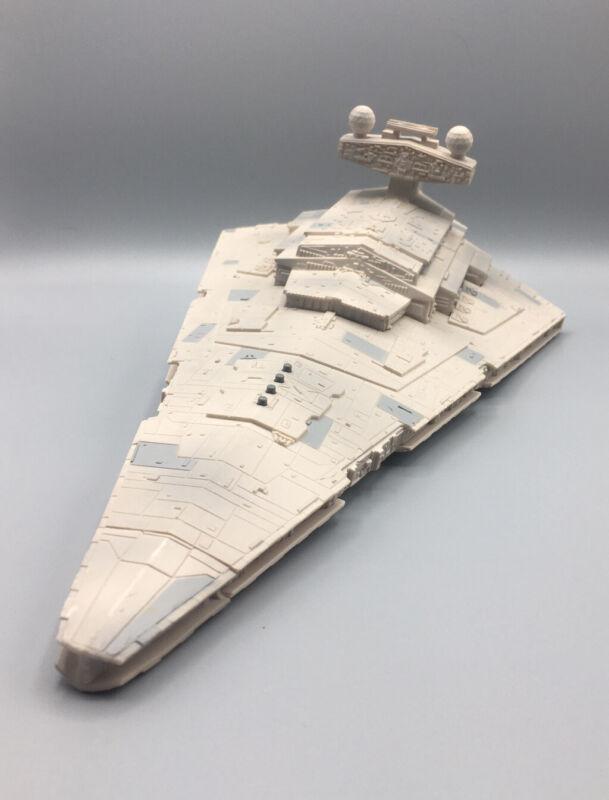 "1997 Star Wars Star Destroyer Hasbro Collector Fleet Lights & Sounds Work 14.5"""