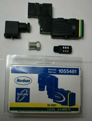 Nordson 1055481 Solenoid Valve 24 VDC, 5.4W New