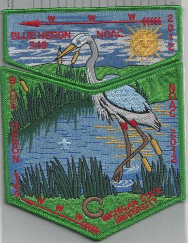 Blue Heron 349 - 2012 NOAC - 2 part Flap