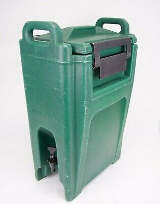 Cambro UC500 Green Insulated Beverage Ultra Container Dispenser Portable 5.25 G