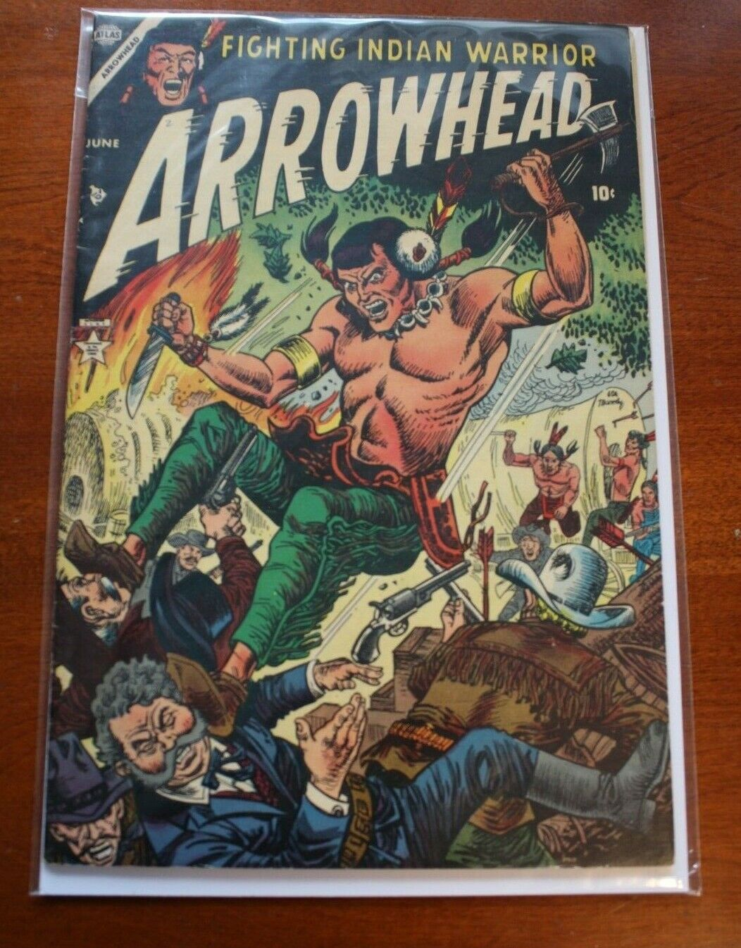 ARROWHEAD # 2 (1954) ATLAS WESTERN COMIC BOOK - Sinnott Art  - NICE !!!