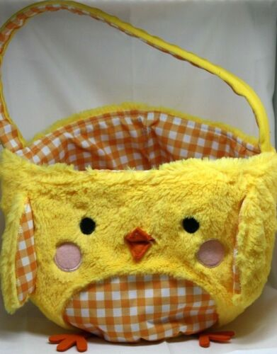 Plush Easter Basket Chick Tote Bag Kohls M663
