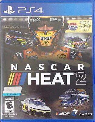Nascar Heat 2   Playstation 4  Nascar Ticket Not Included