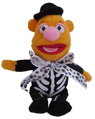 Muppets Halloween Film (Disney Muppets Halloween Fozzie Bear As Skeleton Plush Stuffed Animal)