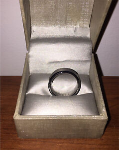 Size 10 Tungsten Carbide ring for sale