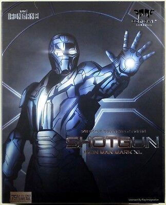 "Comicave Iron Man Mark XL SHOTGUN 1/12 scale collectible figure 6"" NEW"