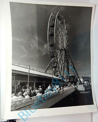 Blackpool Central Pier right side Taken 1980's Original 10 x 8 Photo  Right Side Pier