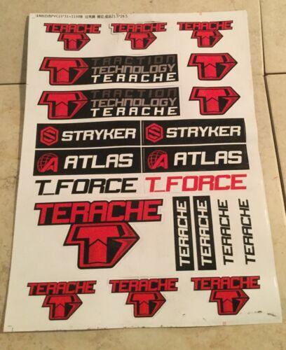 TERACHE ATLAS STRYKER TIRES STICKER DECAL EMBLEM SHEET YFZ450R TRX450R TRX250R