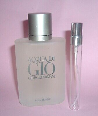 GIORGIO ARMANI ACQUA DI GIO EAU DE TOILETTE COLOGNE TRAVEL SAMPLE SPRAY MEN