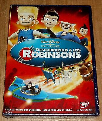 DESCUBRIENDO A LOS ROBINSONS DVD CLASICO DISNEY Nº 49 PRECINTADO (SIN ABRIR)...