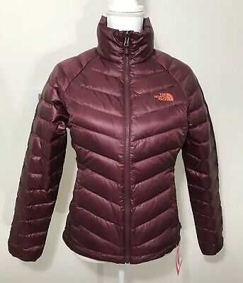 The North Face Women's Flare Down Jacket Deep Garnet Red XS S M L XL $160