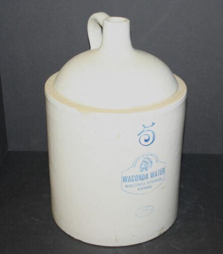 Antique Stoneware Red Wing 5 Gallon Jug – Waconda Water Advertising