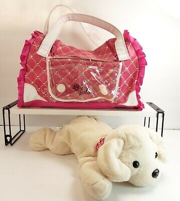 Barbie Hug & Heal Puppy With Pet Carrier, He Barks Sneezes And. Nose Lights...
