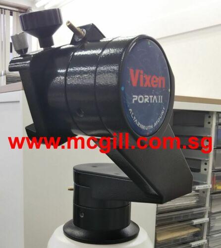 VIXEN PORTA II BLACK Mount Head w/Universal Adapter for Camera/Video Tripods