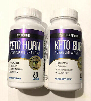 Lot Of 2 Best Keto Diet Advanced Weight Loss 800Mg 60 Capsules