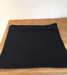 Black decorative pillow case covers