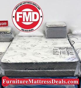 "NEW Queen Size 60""""x78"", 12"" Thick Soft DUAL SIDED Mattress $500"