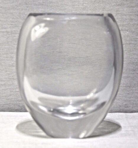 "AFORS (BODA) 8"" Crystal Vase ERNEST GORDON G.G. 2013"