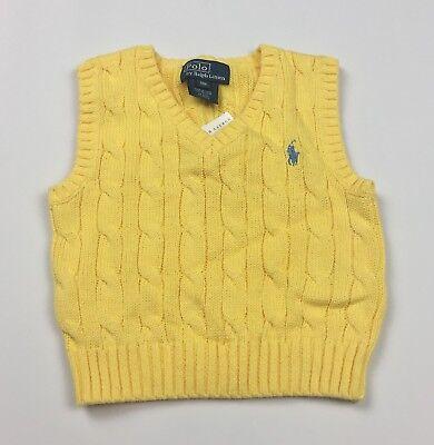 Baby Ralph Lauren Cable Knit Vest