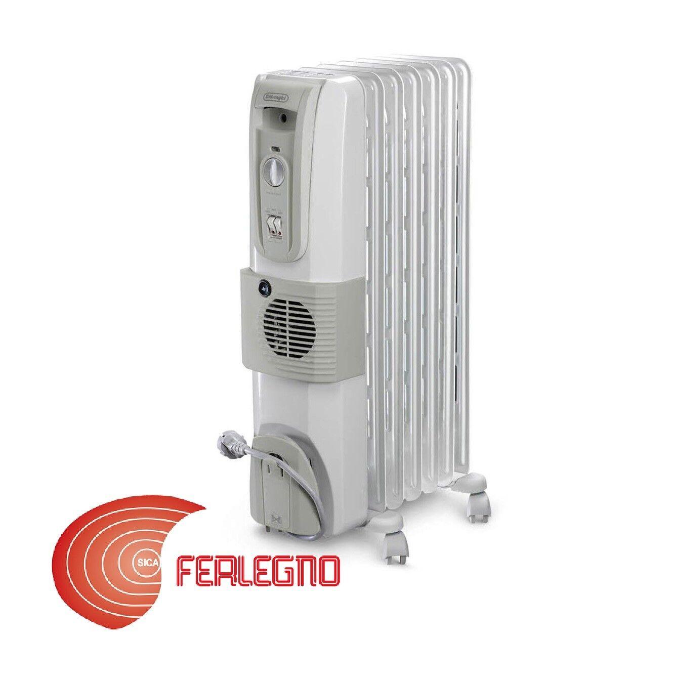Radiator Electric Oil Painting Stove Heating 2000w White Kh770720v Delonghi
