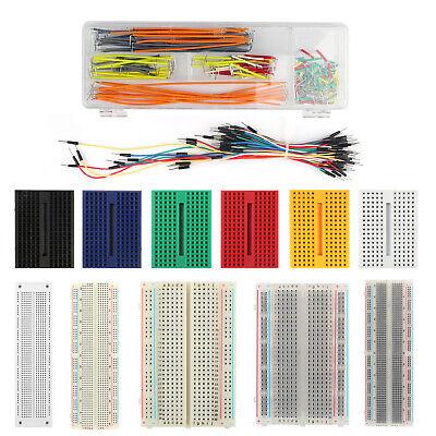 Breadboard 830 400 700 170 Point Solderless Prototype Pcb Board Jumper Wire Usa