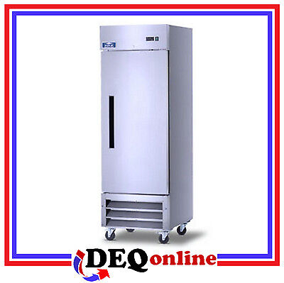 Arctic Air Af23 Single Door Commercial Reach-in Freezer 23 Cu. Ft