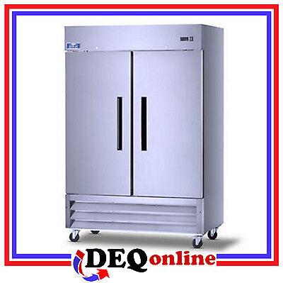Arctic Air Ar-49 Two Door Commercial Reach-in Refrigerator 49 Cu. Ft.