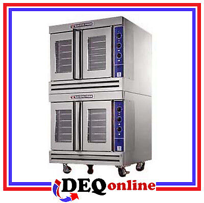 Bakers Pride Gdco-g2 Commercial Double Deck Gas Convection Oven