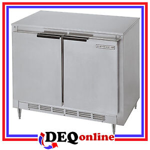 Beverage-Air Bev Air UCR34Y Undercounter Refrigerator Shallow Depth