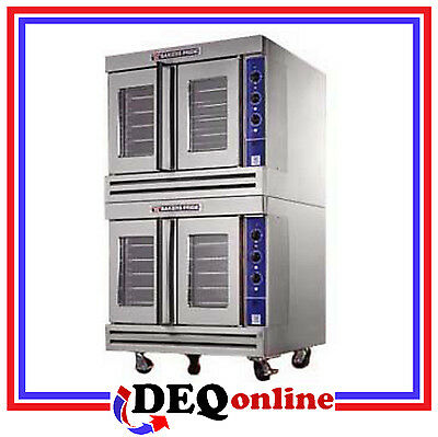 Bakers Pride Bco-g2 Commercial Double Deck Gas Convection Oven