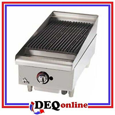 Star 6015cbf Star-max 15 Heavy Duty Lava Rock Gas Char-broiler