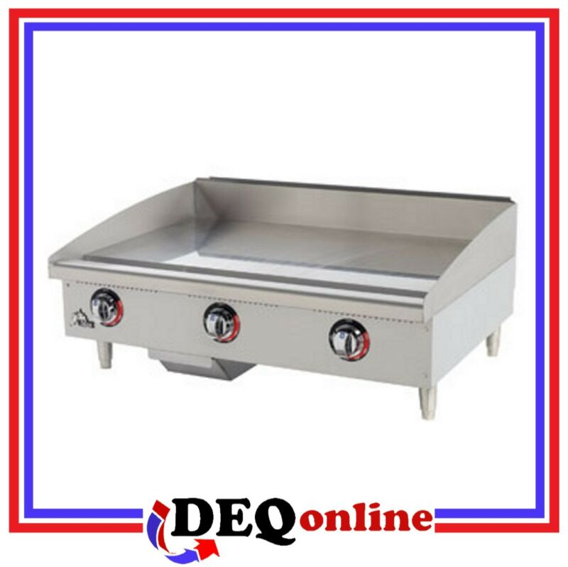 "Star 648TF Star-Max 48"" Gas Griddle With Thermostatic Controls"