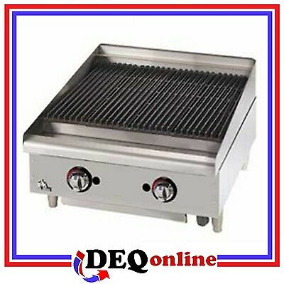 Star 6024cbf Star-max 24 Heavy Duty Lava Rock Gas Char-broiler