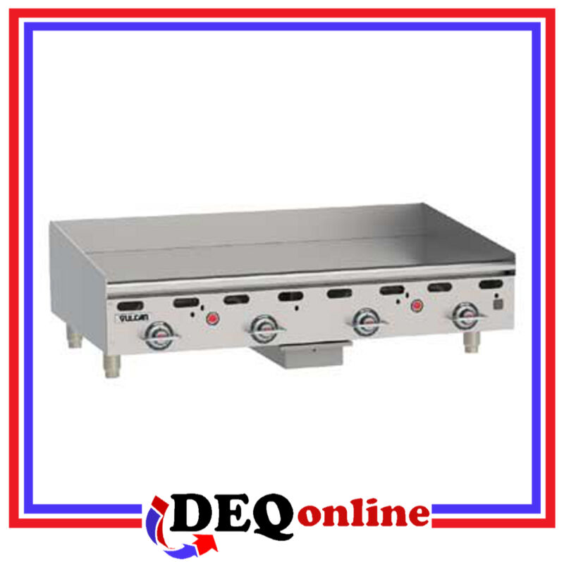 "Vulcan Msa48 Heavy Duty Gas Griddle 48"" X 24"" Griddle Plate (ng Or Lp)"