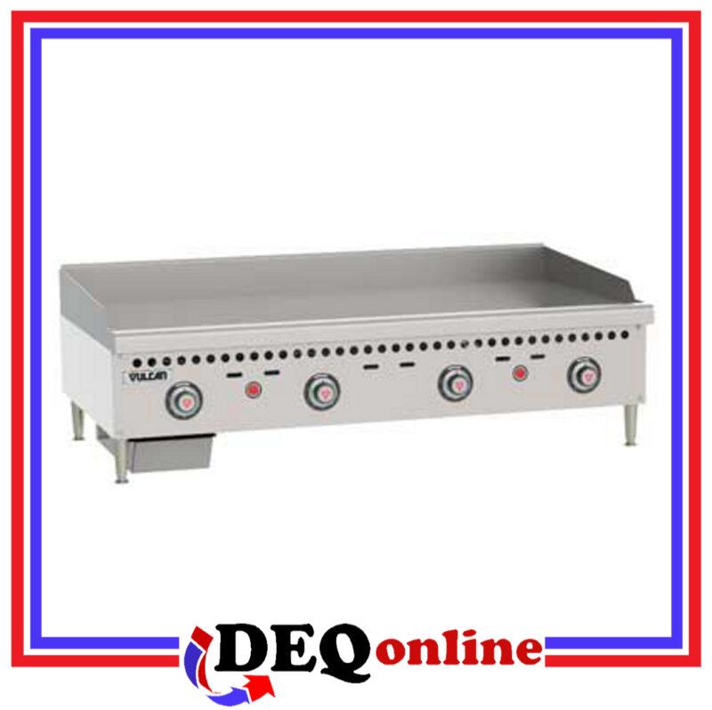 "Vulcan Vcrg48-t Restaurant Gas Griddle 48"" W X 20 1/2"" D Griddle Plate"