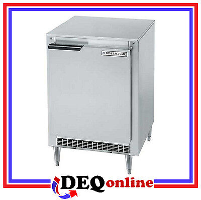 Beverage-air Bev Air Ucr27hc Undercounter Refrigerator Shallow Depth