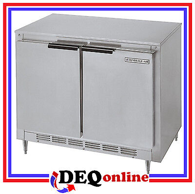 Beverage-air Bev Air Ucr34hc Undercounter Refrigerator Shallow Depth
