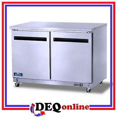 Arctic Air Auc48r Two Door Under-counterworktop Refrigerator