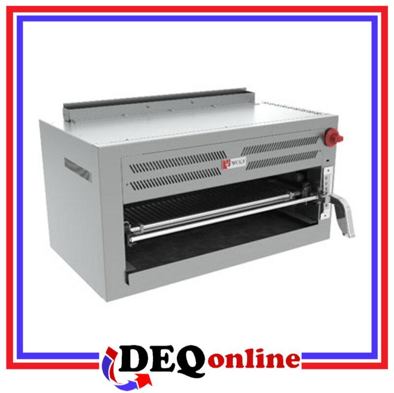 Wolf C36irb Gas Infrared Salamander Broiler Stainless Steel 30,000 Btu Ng Or Lp
