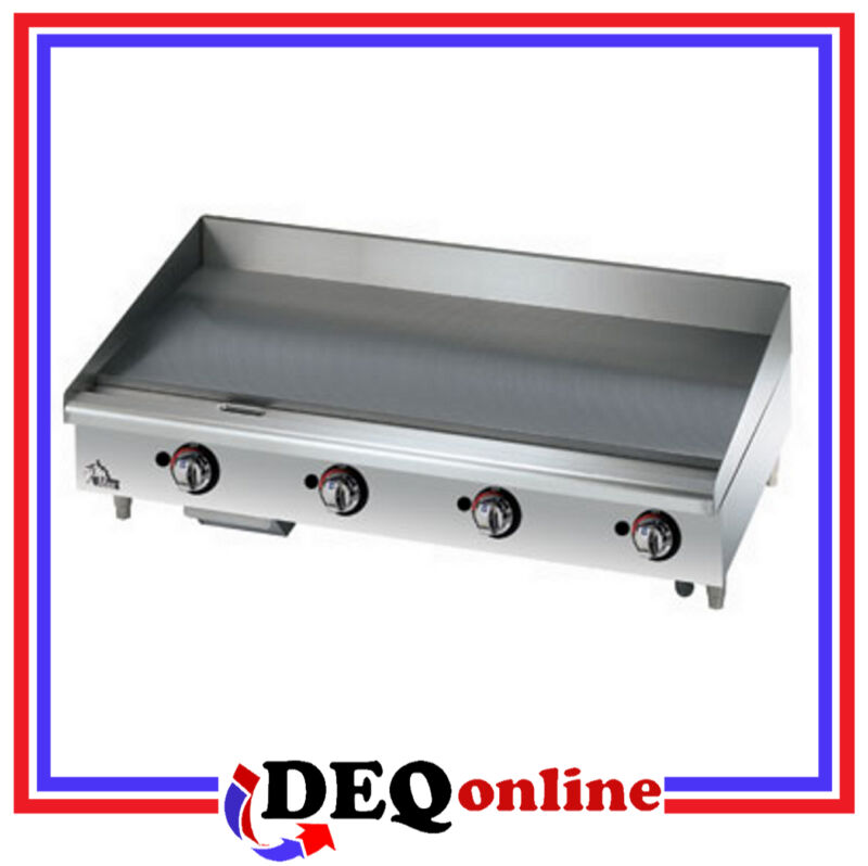 "Star 648mf Star-max 48"" Manual Countertop Gas Griddle Grill"
