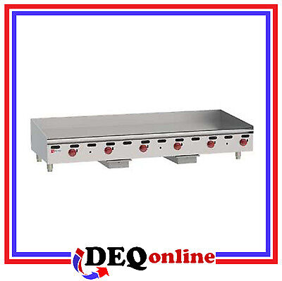 Wolf Agm72 Manual Control Heavy-duty Gas Griddle 72 W X 24 D Griddle Ng Or Lp