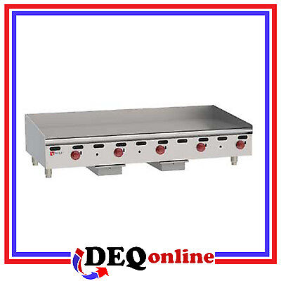 Wolf Agm60 Manual Control Heavy-duty Gas Griddle 60 W X 24 D Griddle Ng Or Lp