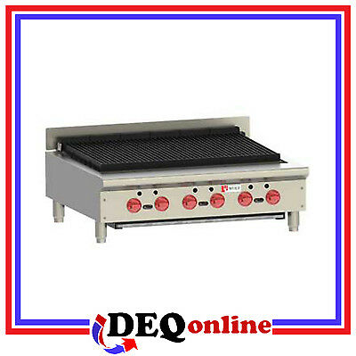 Wolf Acb36 Countertop Gas Achiever Charbroiler 36 18 Wide Ng Or Lp