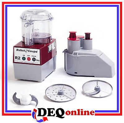 Robot Coupe R2n Clr Food Processor - Includes 2 Discs And Even More Accessories
