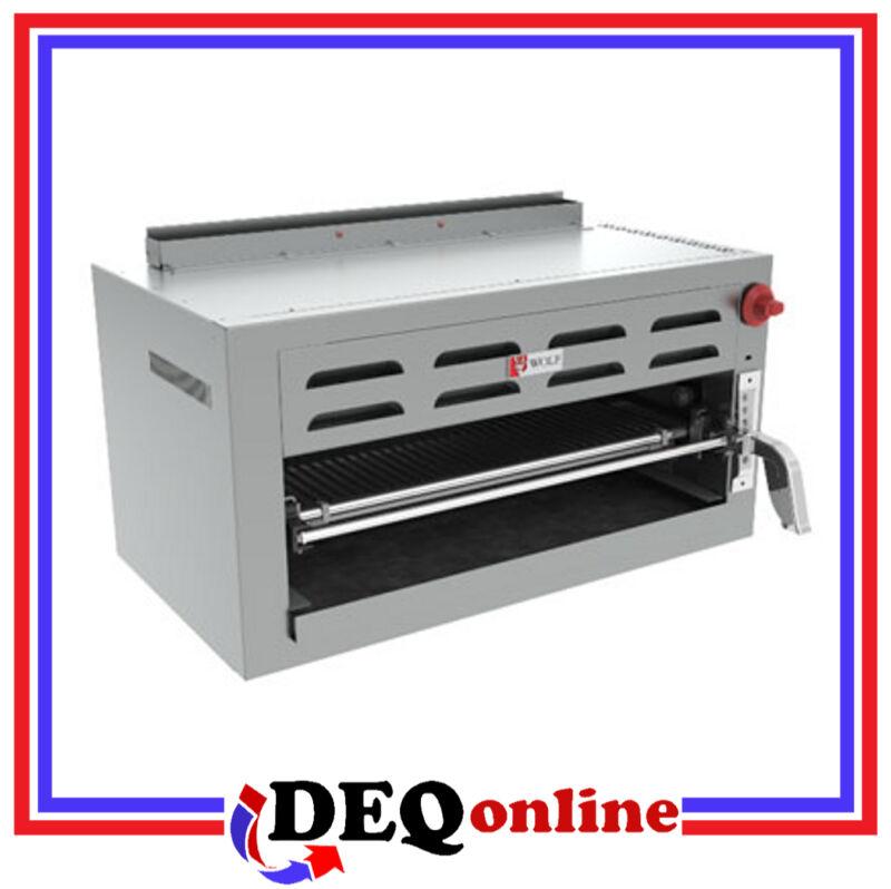 Wolf C36rb Gas Salamander Broiler Stainless Steel 11,000 Btu Choose Ng Or Lp