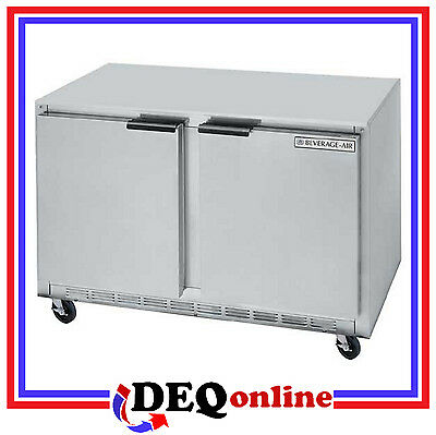 Beverage-air Bev Air Ucf48ahc Undercounter Freezer 29 Depth