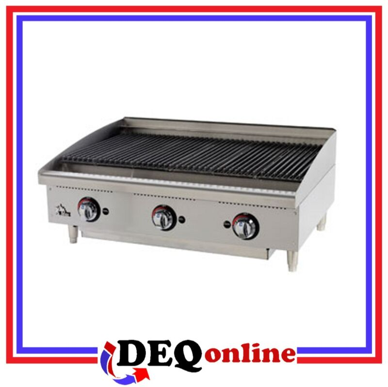 "Star 6148rcbf Star-max 48"" Heavy Duty Radiant Gas Char-broiler"