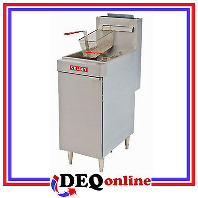 Vulcan Lg300 Free Standing Economy Gas Fryers 35 Lb Capacity Ng Or Lp