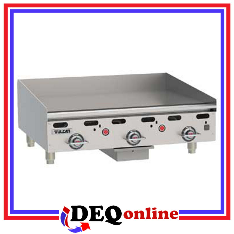"Vulcan MSA36 Heavy Duty Gas Griddle 36"" x 24"" Griddle Plate (NG or LP)"